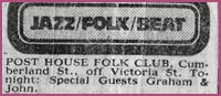 Post house Folk Club